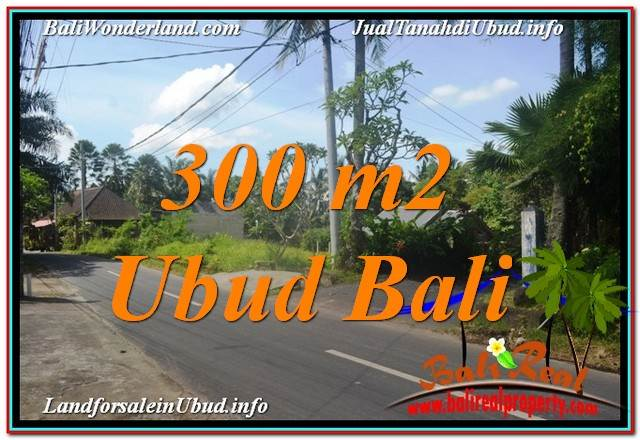 Affordable PROPERTY 300 m2 LAND SALE IN Sentral / Ubud Center BALI TJUB646