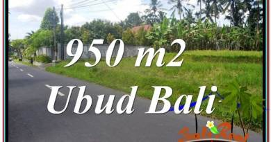 Beautiful UBUD BALI 950 m2 LAND FOR SALE TJUB648