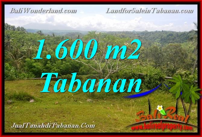 Affordable PROPERTY Tabanan Selemadeg 1,600 m2 LAND FOR SALE TJTB378