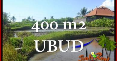 Magnificent 400 m2 LAND SALE IN UBUD BALI TJUB659