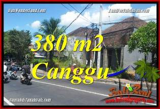 Beautiful 380 m2 LAND IN CANGGU BALI FOR SALE TJCG226