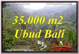 Exotic 35,000 m2 LAND SALE IN UBUD TEGALALANG BALI TJUB674