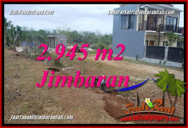 Affordable PROPERTY 2,945 m2 LAND SALE IN JIMBARAN BALI TJJI132