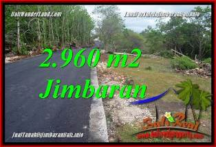 Beautiful JIMBARAN UNGASAN BALI 2,960 m2 LAND FOR SALE TJJI133A