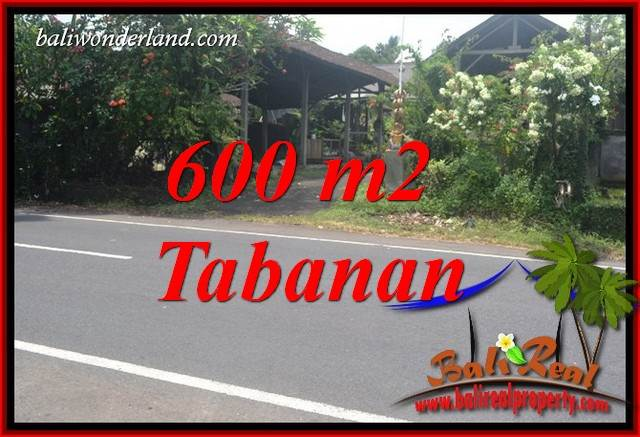 FOR sale Magnificent Property 600 m2 Land in Tabanan Selemadeg Bali TJTB400