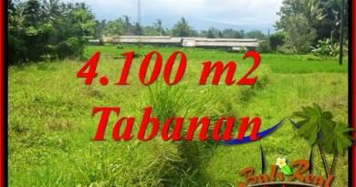 Affordable Property 4,100 m2 Land in Tabanan Penebel for sale TJTB417