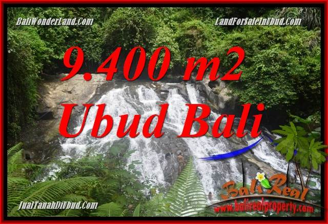 Magnificent 9,400 m2 Land in Ubud Gianyar Bali for sale TJUB686