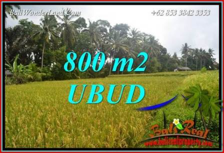 Exotic Land in Ubud Bali for sale TJUB707