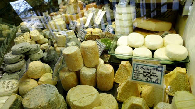 Cheese Shop Paris France