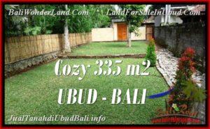 Affordable PROPERTY 335 m2 LAND IN Ubud Tegalalang FOR SALE TJUB537