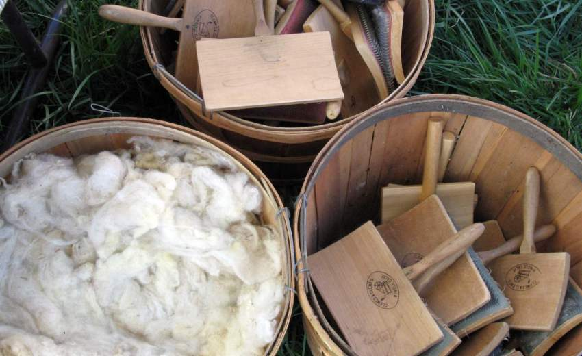wool and carders