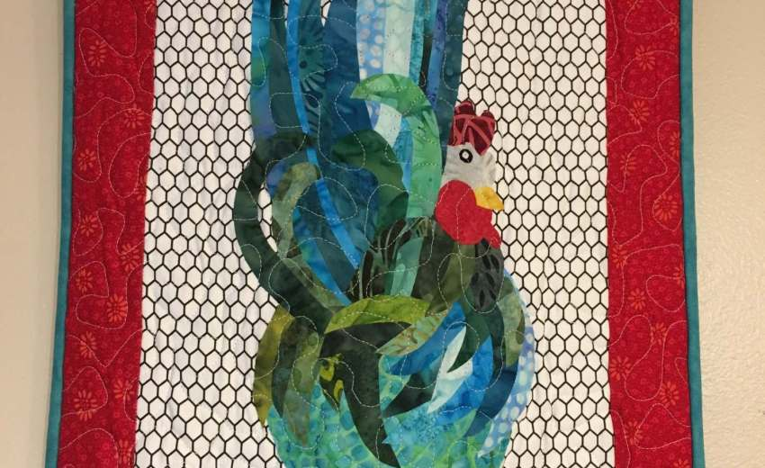 rooster wall hanging