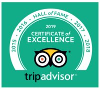 Trip Advisor Cert of Excellence