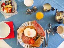 """Das Frühstück im """"Carlyon Guest House"""""""