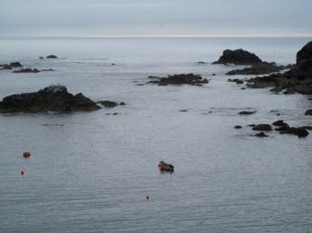 Das Meer direkt vor der Nase!