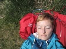 Zeit für Entspannung im Park vorm Upper Lake