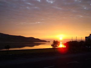 Sonnenaufgang in Dunfanaghy