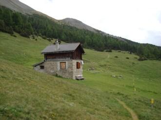 Wandern im Schweizerischen Nationalpark: die Alp la Schera