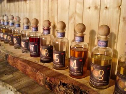 Liköre und Schnaps von 1 bis … in der Distilleria Beretta
