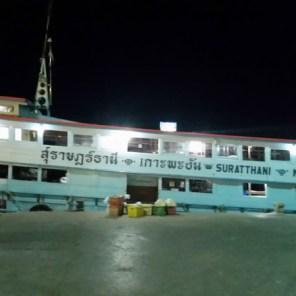Koh Phangan per Nightboat