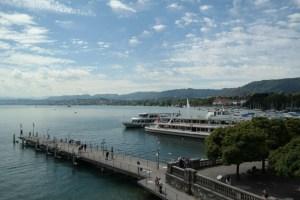 Schifffahrt auf dem Zürichsee
