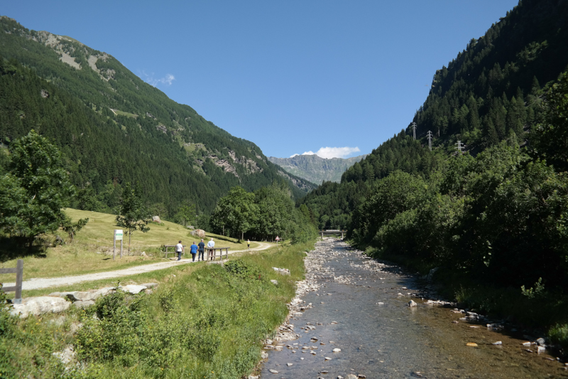 Auf der Via Spluga nach Chiavenna