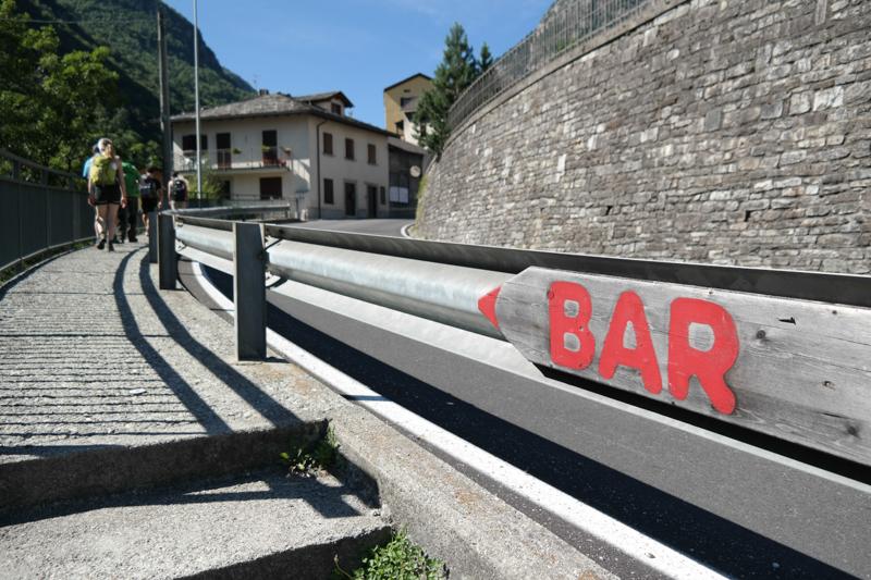 Pause auf italienisch in Gallivaggio