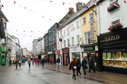 Die Quay Stree in Galway