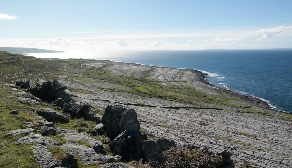 Mitten in den Burren, von Ballyvaughan bis Fanore