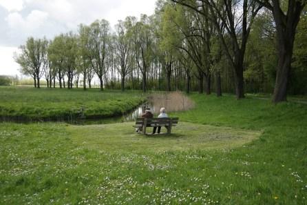 Rundwanderweg im Nationalpark De Biesbosch (Nord)