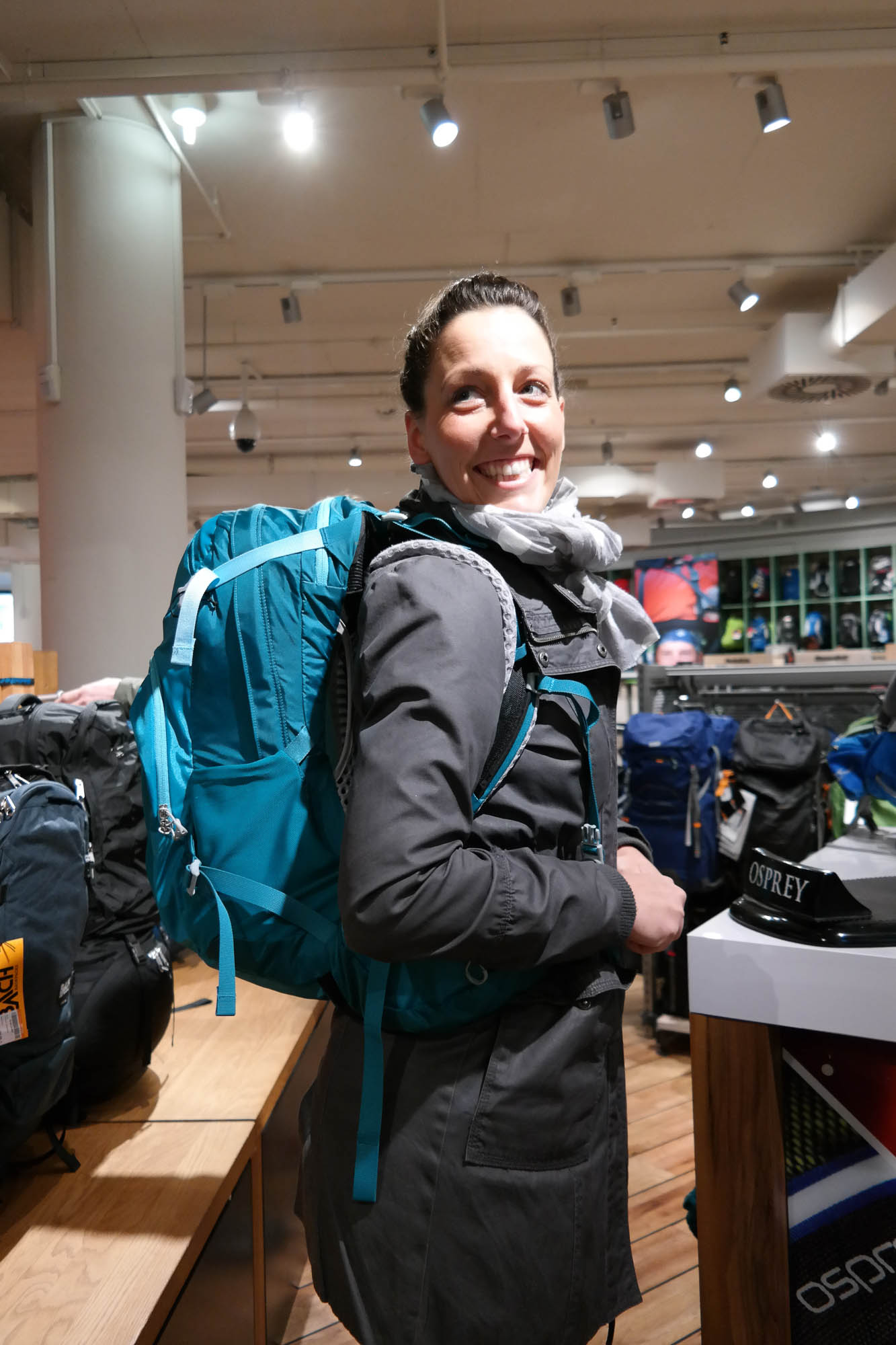Ein Tag bei Globetrotter: Outdoor-Nerd vs. Hipster-Sister