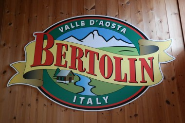 Der berühmte Speck des Maison Bertolin