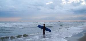 Sunrise Surf in Holland