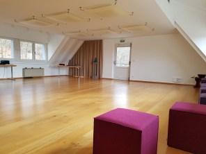 Raum für Yoga und Qi Gong