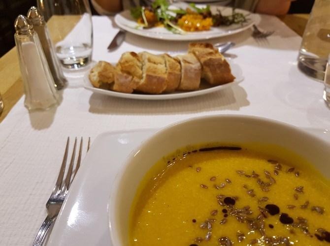 Abendessen im La Clairière