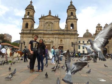 Plaza de Armas, Bogotá, Kolumbien