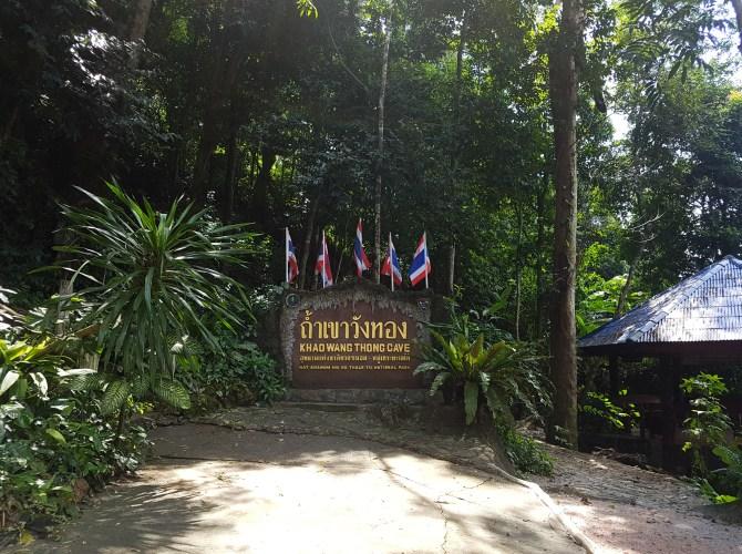 Im Norden Keanoms: die Khao Wang Thong Höhle