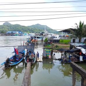 Etwas weiter im Norden findet jeden Tag der Fischmarkt statt