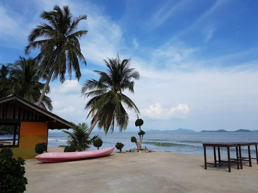 Auch hier am Kwang Pay Beach sind wir nur unter Einheimischen