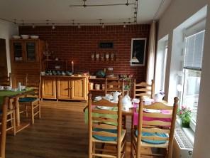 Der Frühstücksraum & Essbereich