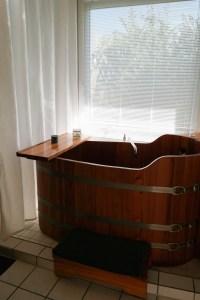 Sauna und Bad gibt es auch