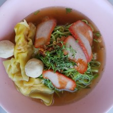 Nudelsuppe in Ban Khung Klang
