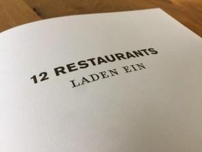 Taste Twelve: Restaurantführer mit Extra