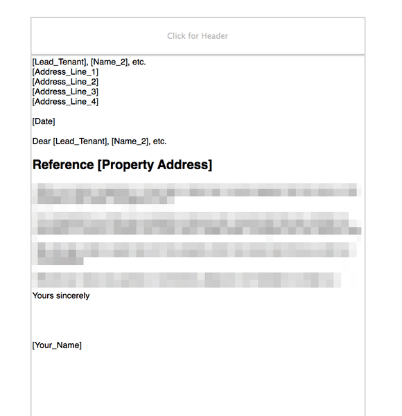 Landlord and Letting Agent Forms and Templates | GRL Landlord ...