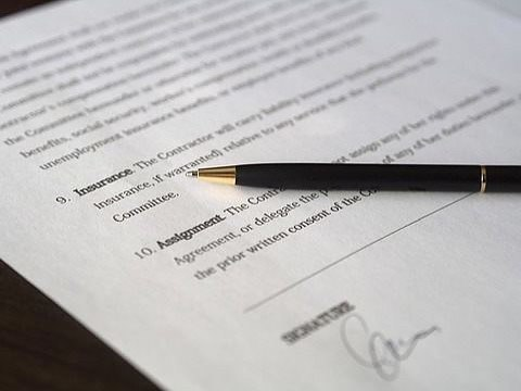 Deposit Prescribed Information and Company Signing