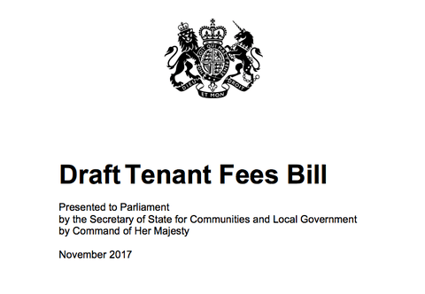Bill Banning Landlord and Letting Agent Fees Published at Last
