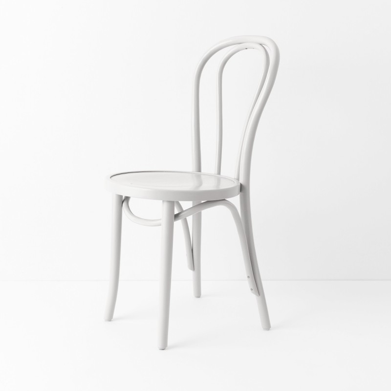 chaise bistrot n 18 blanc