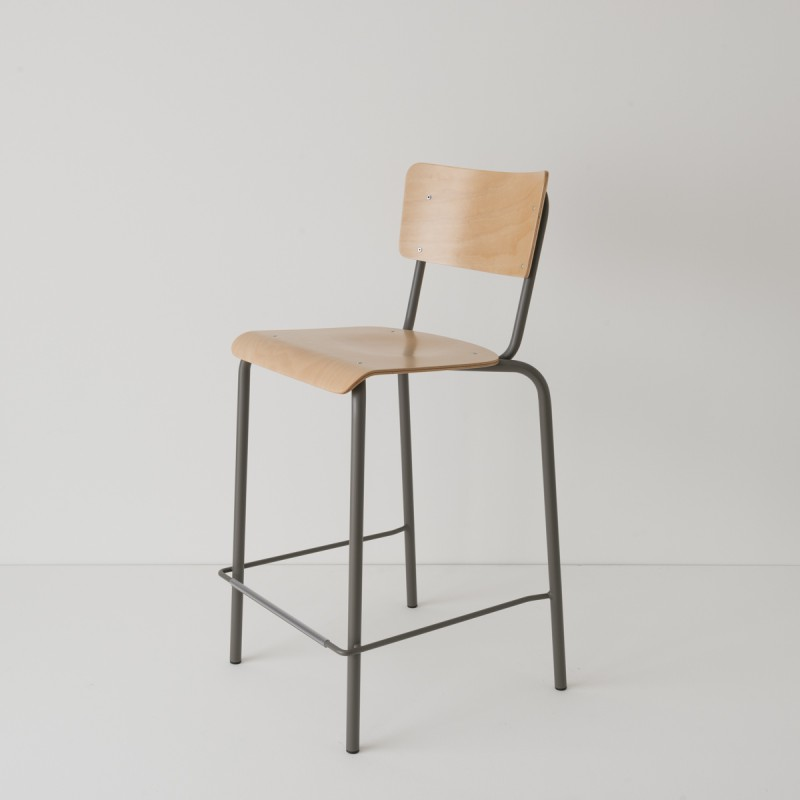 chaise haute 65cm choix 3 coloris