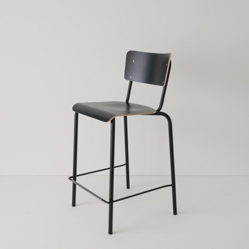 chaise haute 65cm choix 2 coloris