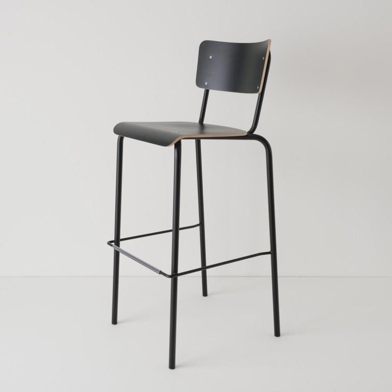 chaise haute 80cm choix 2 coloris